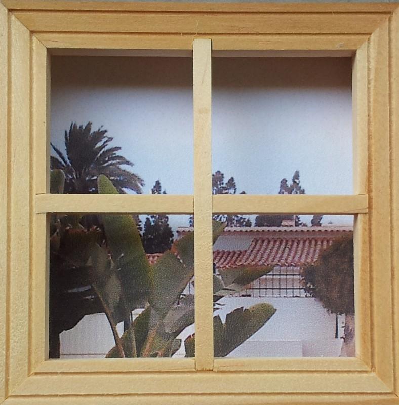 Ideen verkaufen - Bilderrahmen in Form eines Fensters