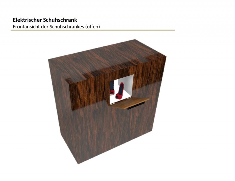 Ideen verkaufen - Elektrischer Schuhschrank
