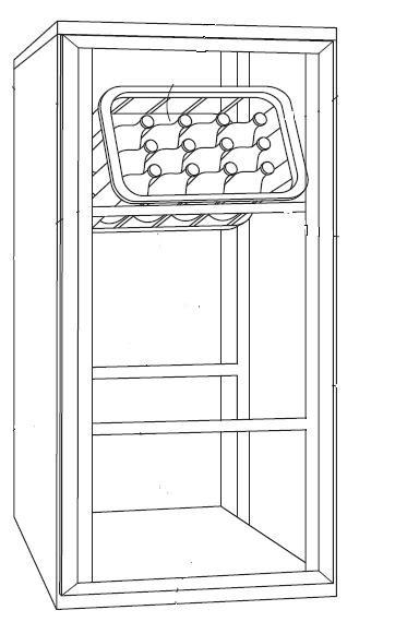 Kühlschrank für getränkekisten