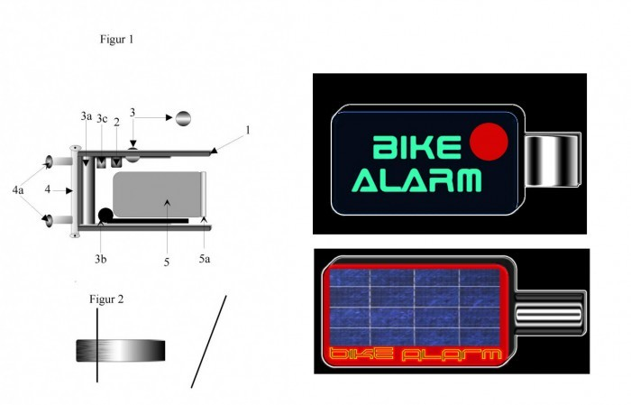 ideen verkaufen fahrradschloss mit fernbedienung und. Black Bedroom Furniture Sets. Home Design Ideas